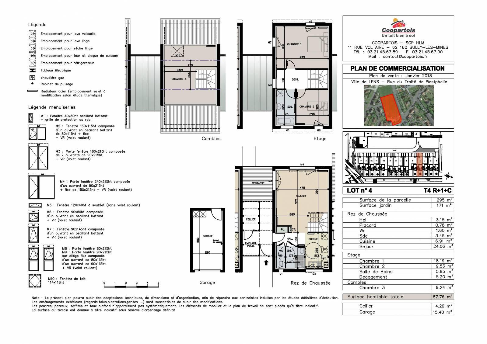 Maison neuve 3 chambres duplex n 4 coopartois for Prix maison neuve 4 chambres