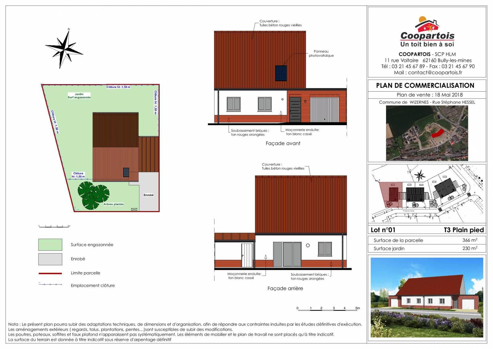 Maison neuve de plain pied 2 chambres coopartois - La maison ysy par le studio auau ...
