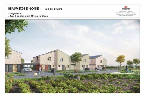 N°26 Maison neuve - 3 chambres - RT2012 - BEAUMETZ-LES-LOGES